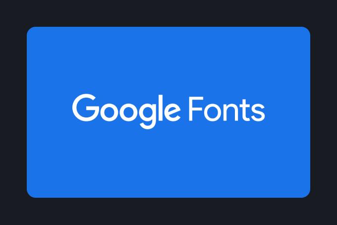 Quarkly Features. Google Fonts Logo